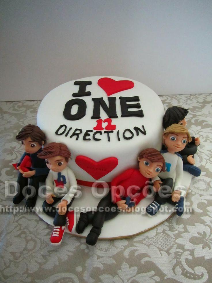 Doces Opções: Bolo One Direction