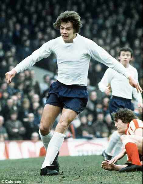 Sam Allardyce of Bolton Wanderers with team mate Peter Reid in the background in 1975.