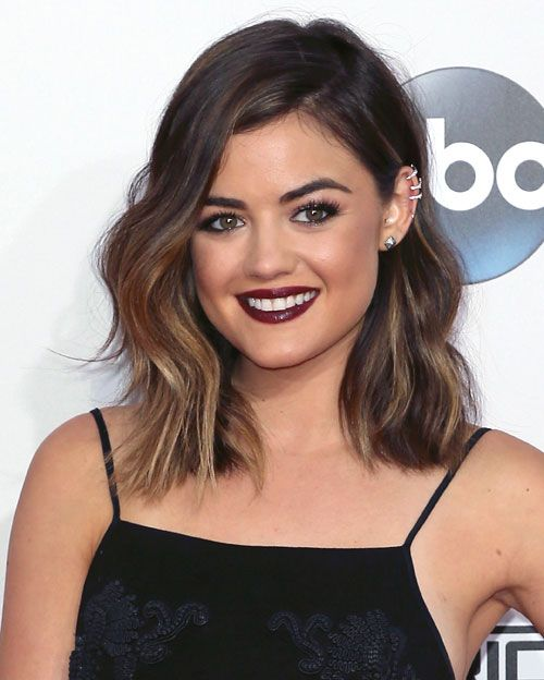 Lucy Hale- wow that's freaking perfect! I wonder how much work this would be to get that style every day?!
