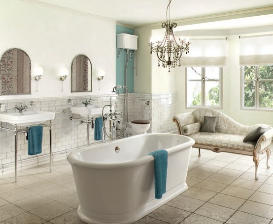 Beautiful Bathroom Designs With Victorian Style