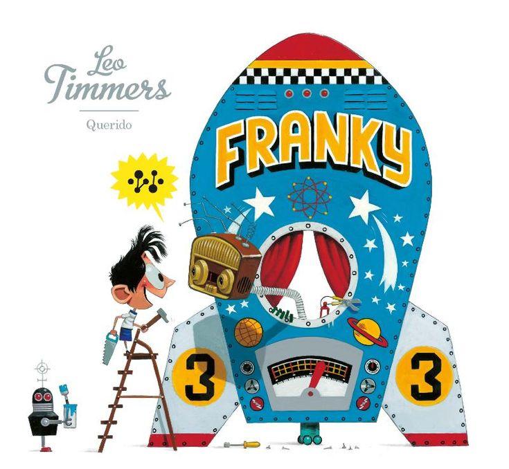 #Kerntitels Kinderboekenweek 2015 : Groep 1 & 2: Franky