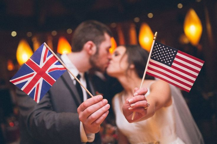 British American Wedding                                                                                                                                                                                 More