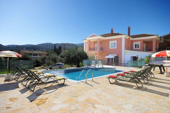 Villa Perla, Kassiopi, Corfu, Greece. Find more at www.villaplus.com