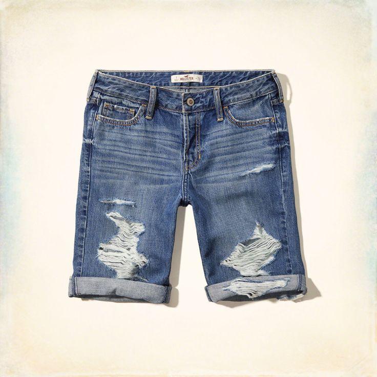 Girls Hollister Boy Shorts | Girls Bottoms | HollisterCo.com.
