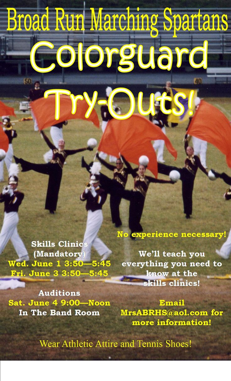 Articles about color guard - 10 Ideas For Recruitment Scholastic Color Guards