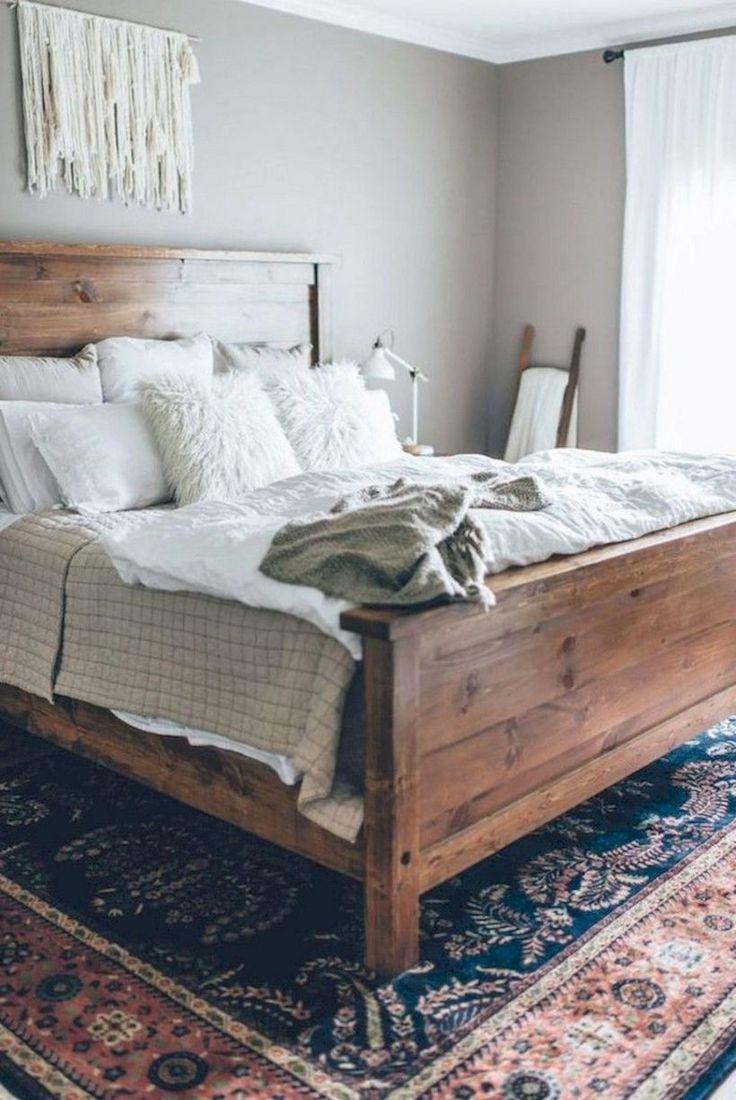 54 Magnificient Farmhouse Master Bedroom Decor Design Ideas