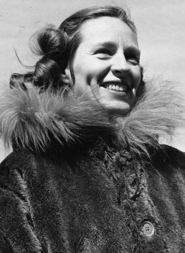 Barbara Polk Washburn, author of ALASKA ADVENTURER.