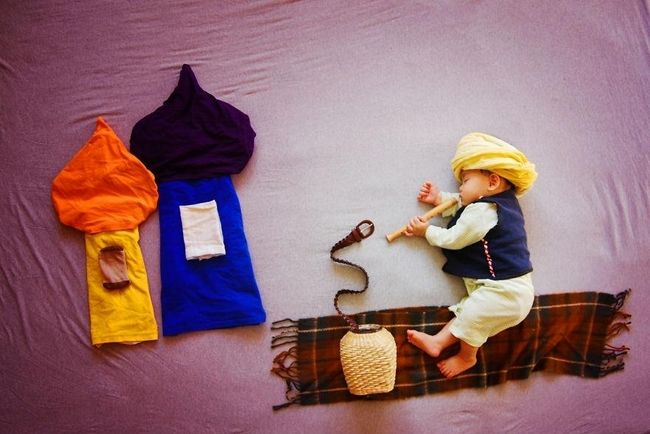 Creative Mom Turns Her Baby's Naptime Into Dream Adventures - 13