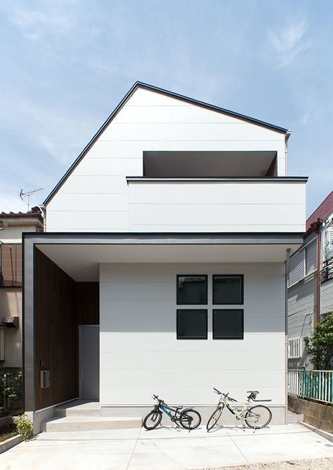 土間と壁柱のハウス | 注文住宅なら建築設計事務所 フリーダムアーキテクツデザイン