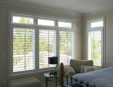 Interior Plantation  Shutters tropical window treatments