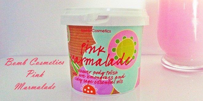 Pink Marmalade scrub σώματος της εταιρίας Bomb cosmetics. Αναλυτικό review, υφή, σύσταση, αποτελεσματικότητα, μυρωδιά.