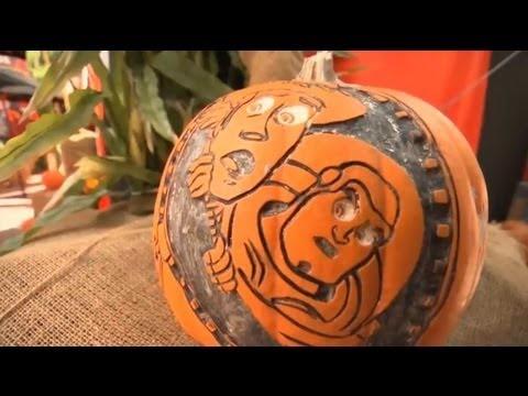 The Art of Pumpkin Sculpting at Disneyland Park