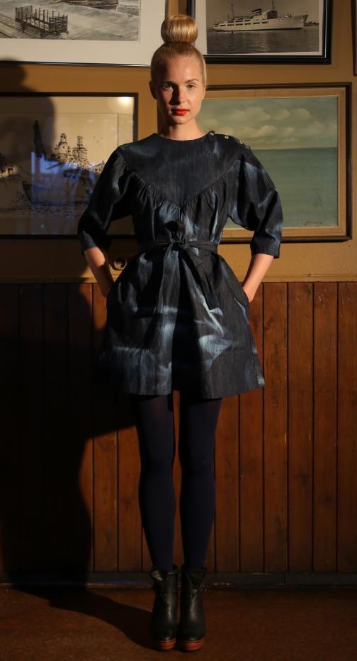 Ivana Helsinki AW13 collection: Aila dress  #ivanahelsinki #fashionflashfinland #fashion #fashiondesigner #designer #aw13 #collection #Finland #Helsinki