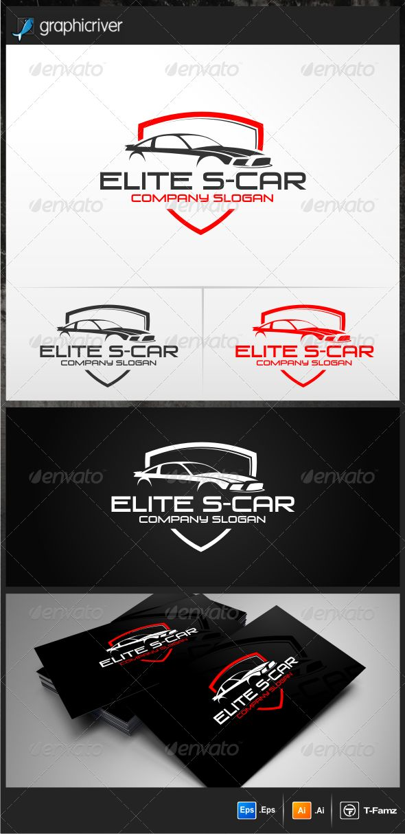 Elite S-Car  - Logo Design Template Vector #logotype Download it here: http://graphicriver.net/item/elite-scar-logo-templates/4735533?s_rank=13?ref=nexion