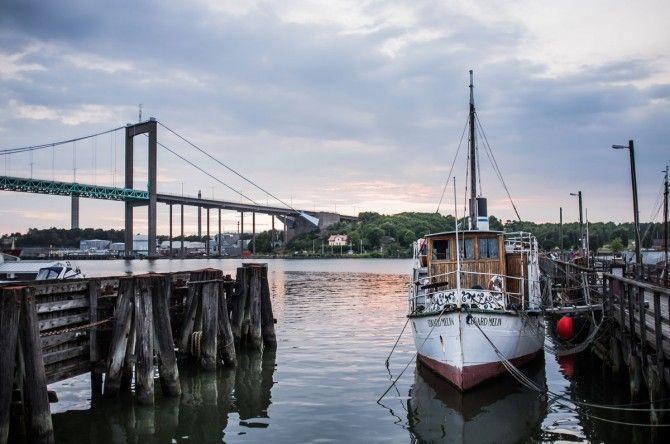 Göteborg - Gothenburg - No Golden Gate, its Copper Gate.