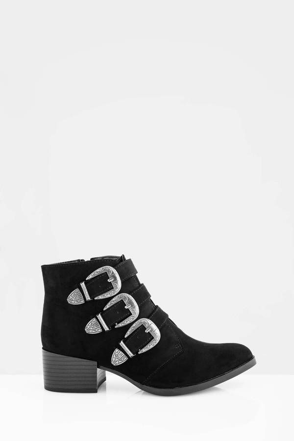 Elvina Multi Buckle Boot  at Tobi.com #shoptobi