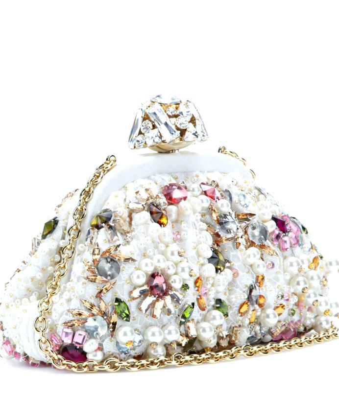 Dolce & Gabbana ● Embellished clutch