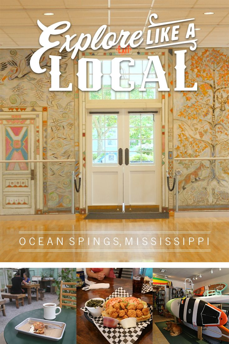 With more than 200 independent shops, galleries, restaurants and nightlife, the Ocean Springs community captures the small town charm with its walkability, white sand beaches, and year-round activity.