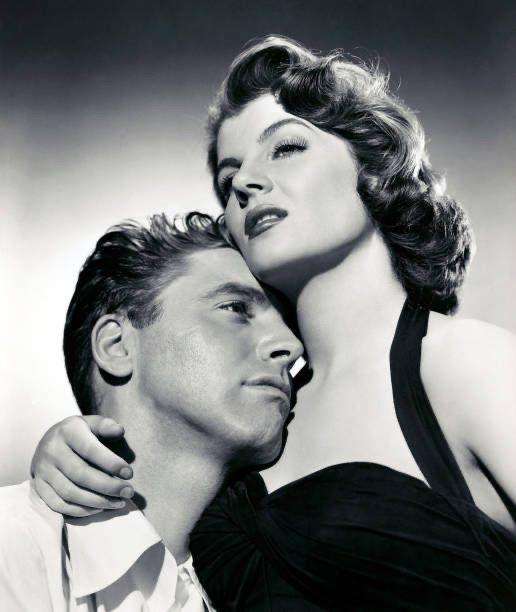 Actress Corinne Calvet and Burt Lancaster in a sce…