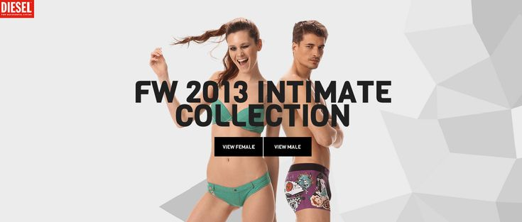 Diesel Intimate Collection - Site of the Day November 10 2013