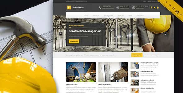 How To Create Professional Website for Construction / Infrastructure Business