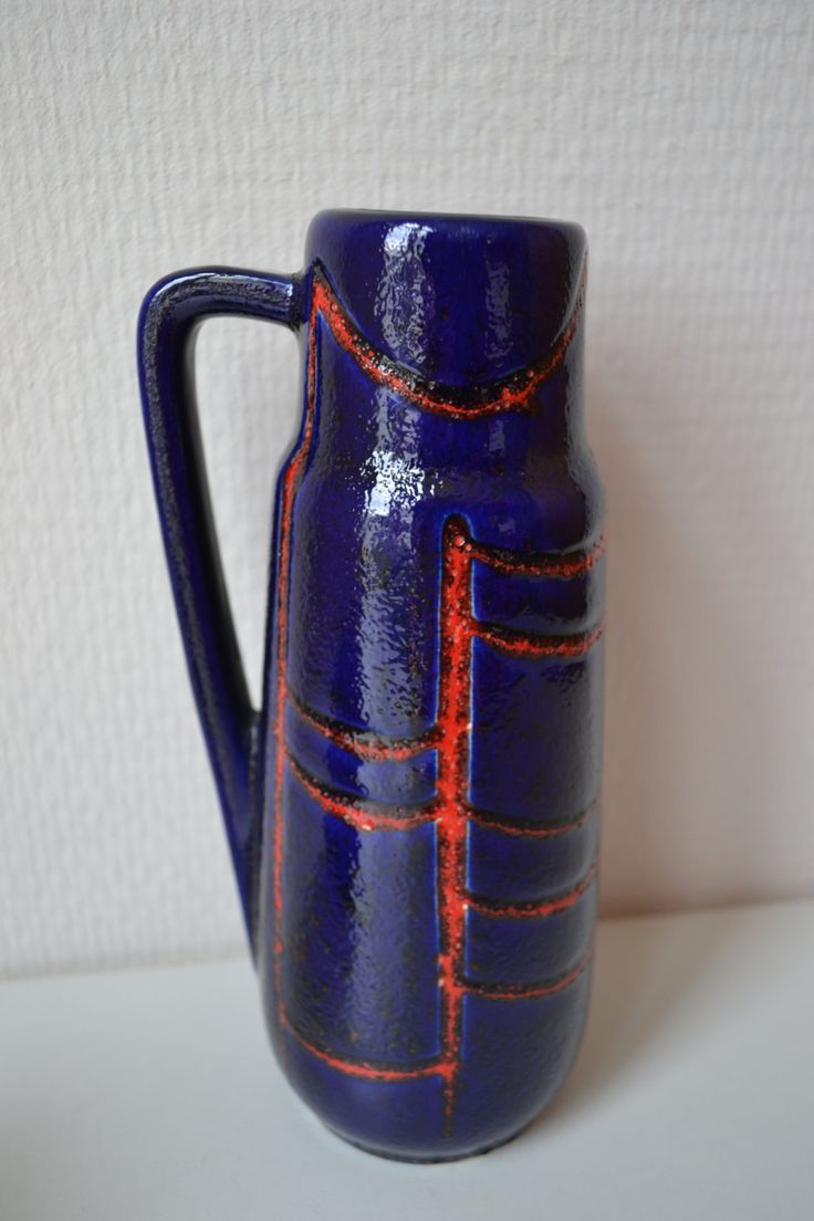 W. Germany Scheurich vase. by Vaastastischvintage on Etsy