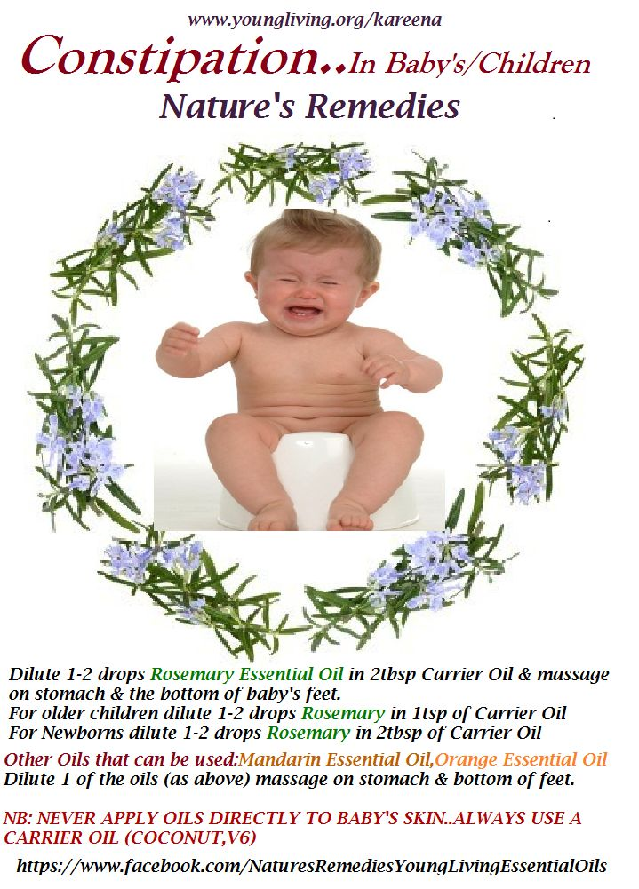 Constipation Relief For Babies Children Nature S