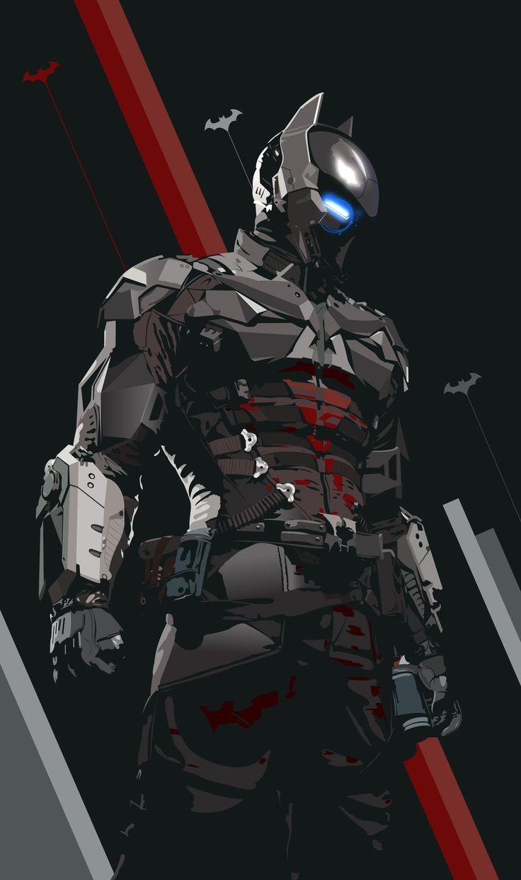 Arkham Knight (Vector) by Mik4g on deviantART