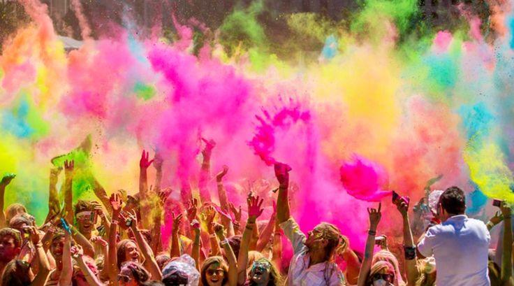 Siap-siap untuk Holi Festival 2017