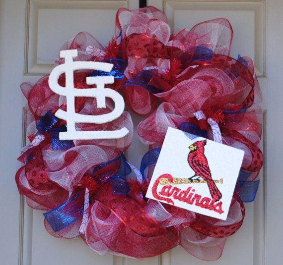 StL Cardinals Wreath