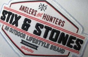 Stix & Stones logo on ball cap. Great post by Lowell Strauss! #outdoor #fishing #hunting #stixnstones #lowell http://lowellstrauss.com/2014/05/19/stix-and-stones-new-outdoor-apparel-company/