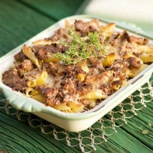 Enkel och läcker pasta al forno på kantareller - Recept från Mitt kök - Mitt Kök