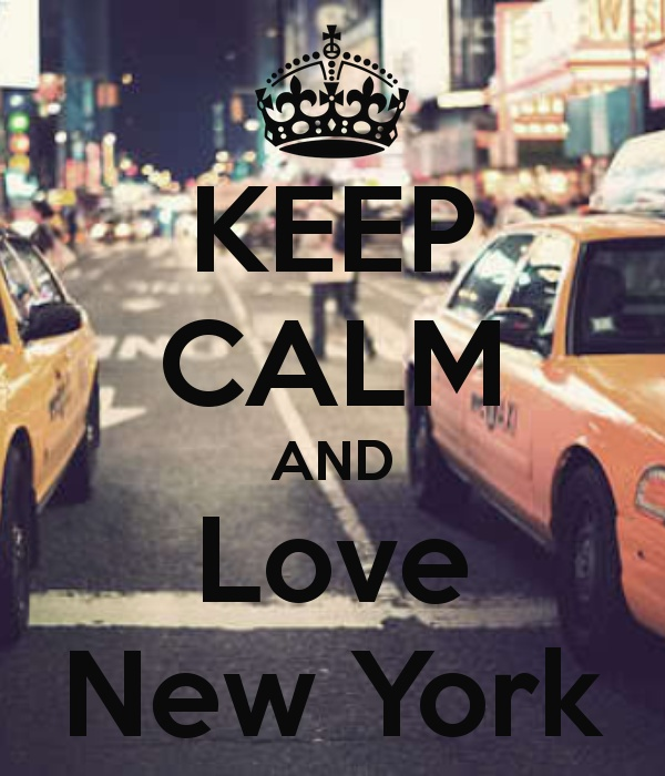 KEEP CALM AND Love New York