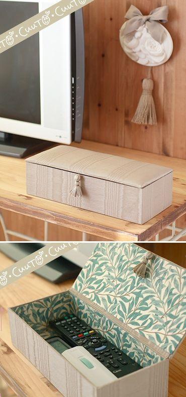 cajas para mandos a distancia organizar comedor