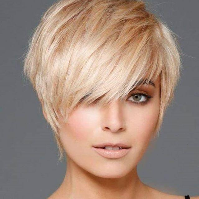 60 Neuer Trend Der Kurzhaarfrisuren Blondine In 2020 Frisuren Feines Haar Frisuren Fur Feines Dunnes Haar Kurzhaarfrisuren