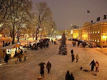 Turku, Finland Winter