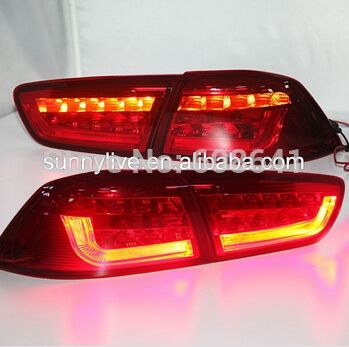 266.66$  Buy here - http://ali3nw.worldwells.pw/go.php?t=521188744 - For Mitsubishi Lancer Exceed V1 Type LED tail Lamp 2009-2011