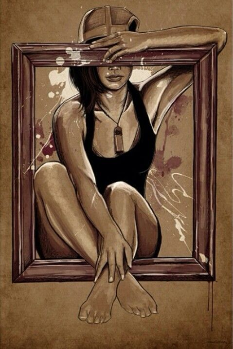 """Reflections in this mirror may be distorted by socially constructed ideas of 'beauty'"""""""