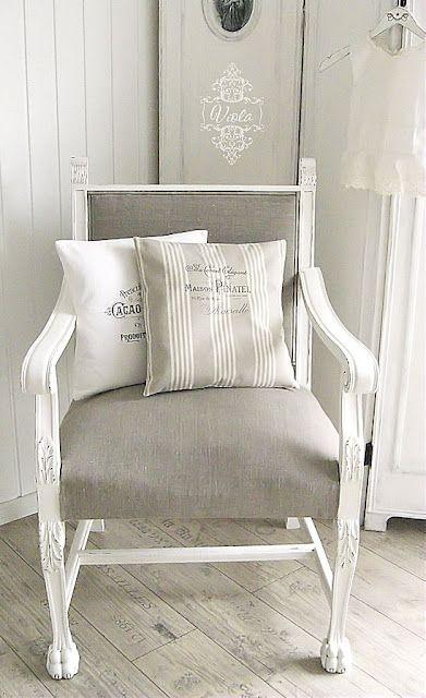 sillon blanco para mi pieza