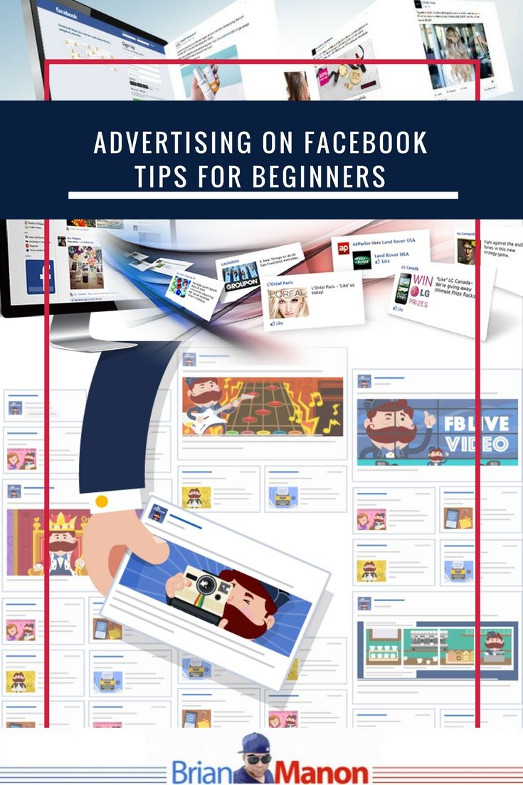 Advertising on Facebook: Tips for Beginners  http://www.brianmanon.com/advertising-facebook-tips-beginners/