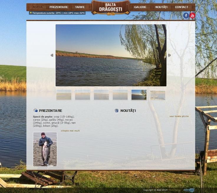www.baltapeste.ro - site de prezentare