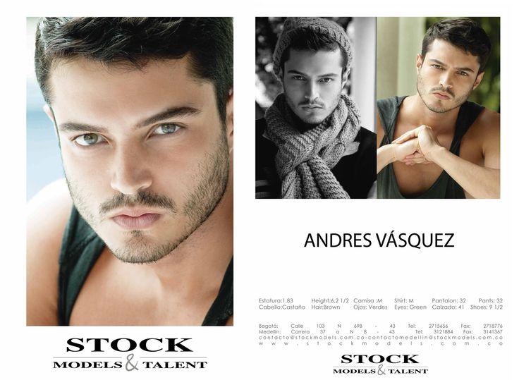 Andrés Vásquez- Modelo Stock Models -