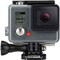 GoPro HERO+ Action Camcorder (Built-in Wi-Fi and Bluetooth Enabled, 1080p Movie, 8MP Photo, Waterproof to 131')