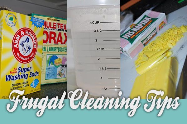 5 Frugal Cleaning Tips | Maid4Time