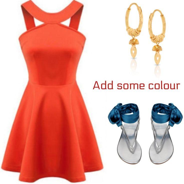 Interchangeable sandals from Slinks - add a splash of colour www.slinks.com