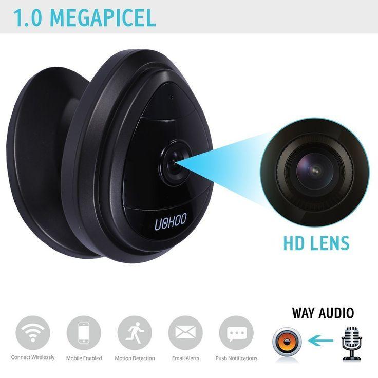 Amazon.com : Mini IP Camera, UOKOO Home WiFi Wireless Security Surveillance Camera System with Night Vision/Two Way Audio Black : Camera & Photo http://amzn.to/2swNv5O