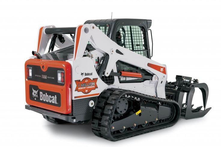 Bobcat Track Loader T650 Limited Edition with grapple