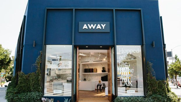 Smart Luggage Brand Away Opens a Gorgeous Shop in Los Angeles