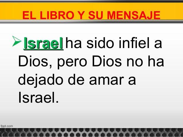 LA BIBLIA DICE: Me compadeceré... Y los salvaré...No los salvaré c...