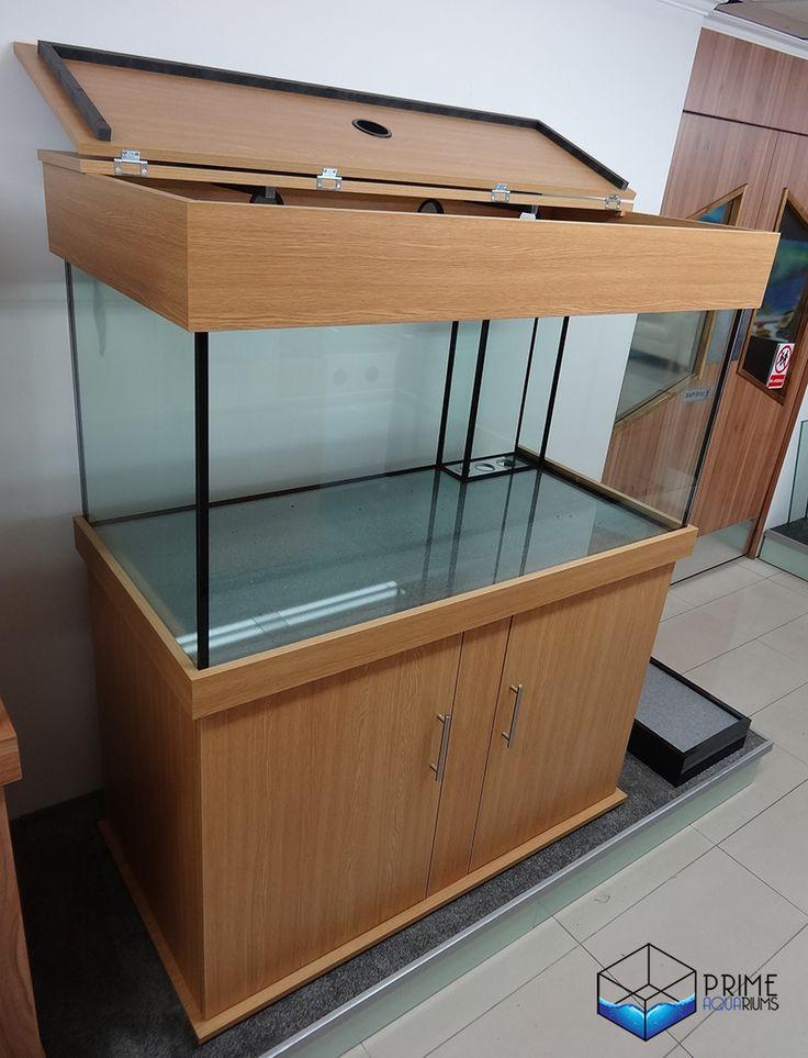 Marine Aquarium 48x24x24 Classic Cabinet Design inBama Oak (2)